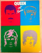 Queen Hot Space ~ Original 1982 vintage Songbook