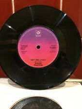 David Parton 7ins Vinyl - Isn't She Lovely & Love And Peace Of Mind