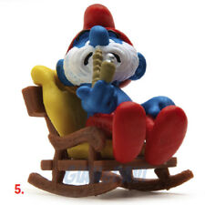 PUFFO PUFFI SMURF SMURFS SCHTROUMPF 4.0228 40228 Rocking Chair Dondolo 5A