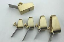 5 pcs various size Mini Brass planes, Violin/Cello making tools