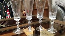 Schott Zwiesel glasses.Set of 4 Flute glasses