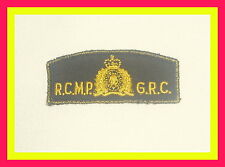 """Polizeiabzeichen/ Police patch"""" Royal Canadian Mounted Police,RCMP """" Aufnäher"""