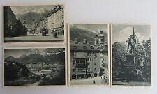CARTOLINE LOT 4 x INNSBRUCK TIROLO AUSTRIA AK ~ 1920/30 Austria POSTCARDS