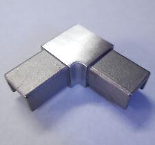 Stainless Steel Corner Bracket Top Rail Glass Balustrade Railing Handrail SATIN