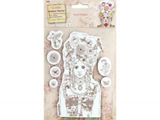 Santoro Willow Rubber Stamps MARIE ANTIONETTE