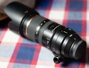 Tamron SP 70-200mm F/2.8 VC USD Lens Nikon Fit.