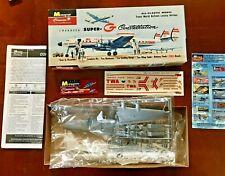 1999 Monogram Classics Airplane Kit Super-G Constellation