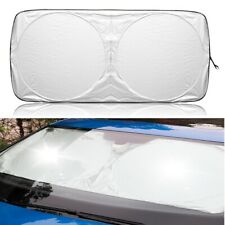Car Shield Cover Front Rear Window Foldable Visor UV Sun Shade Windshield Block