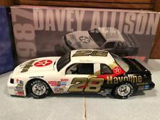 Action 1987 Davey Allison #28 Havoline Rookie of the Year Thunderbird 1/24