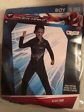 Halloween Costume Electro The Amazing Spider-Man 2 Small 4-6