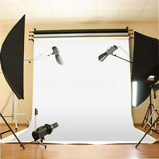 10x10 ft White Backdrop Background Photo Stand Muslin Props Photography Wall