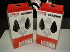 4 intermitentes para led negro originales Yamaha para moto código YMEW078920010
