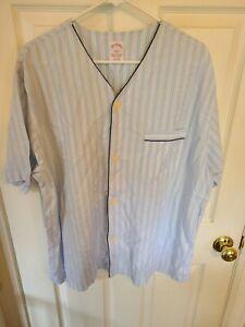 Brooks Brothers PINSTRIPED Pajamas Size L look! unworn! very nice! MENS L