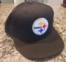 Pittsburgh Steelers Hat Fitted Size 7 1/2 Sideline New Era 59Fifty NWT NFL New