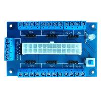 HN- PC 24/20Pin ATX* DC Power Supply Breakout Board Module Adapter Accessories S