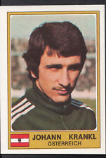 Football Sticker - Panini Euro Football 1976 - No 212 - Johann Krankl - Austria