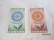 Irlanda 1964 Nuovo di zecca N H Set Di 2 S G 203-4 EUROPA 17/ISB