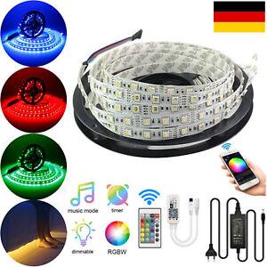 LED Streifen RGB RGBW RGBWW 4in1 SMD 5050 Stripe WIFI APP Controller Trafo Band