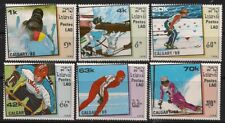 Laos Stamp - 88 Winter Olympics Stamp - NH