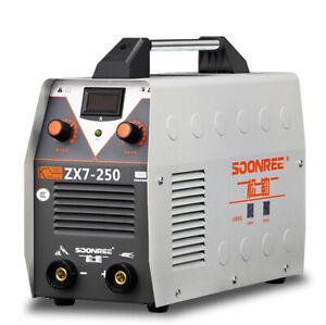 220V Digital Welder ARC Inverter IGBT MMA Electric Welding Machine ZX7-250