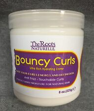 THE ROOTS NATURELLE BOUNCY CURLS ULTRA RICH HYDRATING CREME ANTI FRIZZ 8oz