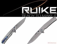 RUIKE Knives P801-SF Blue Stonewashed Taschenmesser pocket knife Framelock