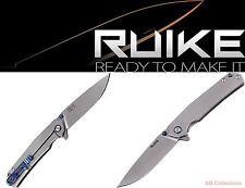 RUIKE Knives P801-SF Blue Stonewashed Taschenmesser pocket knife Framelock