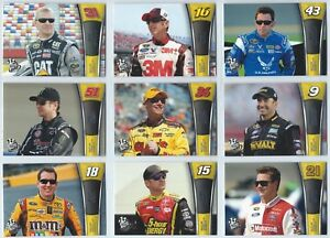 2013 Press Pass Racing Base Card You Pick the Card / Driver Finish Your Set