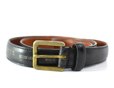 Tiger of Sweden Original Mens  Leather Belt Black Size 34