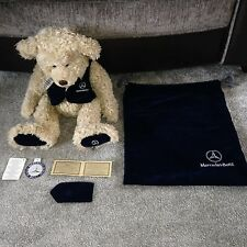Genuine Collectable HENRY Mercedes-Benz Motor Car Teddy Bear with AUTHENTICITY