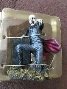 Mythical Figure Bald Headed Dracula Man Kneeling Resin Figurine New