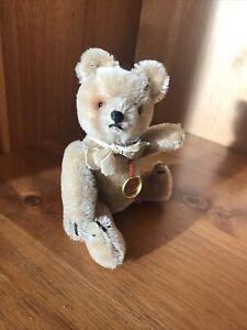 Vintage Hermann Teddy Bear - Old Miniature