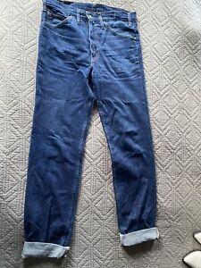 "Levi's Dark Blue Men's Straight Jeans 33/34"" Style 620.02.16"