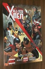 ALL NEW X-MEN Volume 2 Hardcover -- Here to Stay -- Bendis -- OOP HC