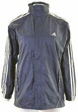 Adidas Para Hombre Chaqueta Para Lluvia Talla 34 XS azul marino nylon Loose Fit HZ06