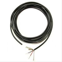 Guitar Circuit Hookup Wire - Shielded - 2-Conductor - 24 AWG - 12-Feet - Black