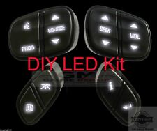 DIY White LED Upgrade Kit for your GM Chevrolet Steering Wheel Switches/Controls