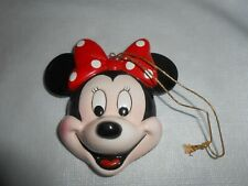 """""""Schmid Disney Characters"""" Minnie Mouse Collectible Ornament ~ Hand Made Painted"""