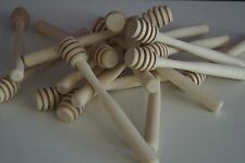 JOB LOT 100 x 7,2'' Long Honey Wooden Spoon Kitchen Dipper Spoon & Drizzler