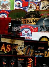 BOLIVIA SET 20 BEER LABELS SOUTH AMERICA INCL RARE THERMO AND CAN LABELS