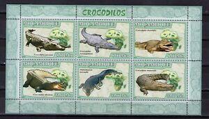 MOZAMBIQUE - 2007 CROCODILES  M2707A