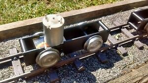 Garden Railway lightweight, Sm32 & G 45mm 0-4-0 locomotive Chassis