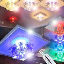 LED Lámpara de techo moderna mando a distancia cambio de color salón dormitorio