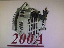 HIGH OUTPUT 200AMP ALTERNATOR Fits MAZDA RX-7 1.3L L4 1993 1994 1995 200 HIGHAMP
