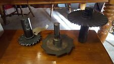 """Slotting Cutter w/ holders Arbor Saw Blades  LOT of 3  6"""" x .3125  .190R"""