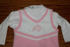 Baby Infant girls Colorado Buffaloes CU pink dress football size 6 - 9 months