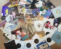 "7"" Vinyl Singles 60s 70s 80s 90s Pick any from 900+ Records *Buy 6, 1 FREE* 99p"