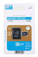 16 GB MicroSD Memory Card (W/ MicroSD to SD Adapter) for Motorola Moto G5