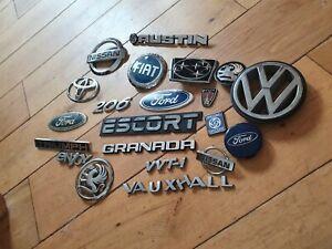 Old Car Badges Job Lot 4