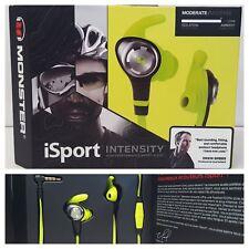 Monster iSport Strive In-Ear Only Headphones - Green ~ Brand New & Sealed